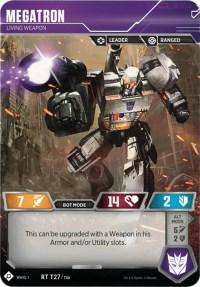 Megatron - Living Weapon, Transformers TCG, Wave 1
