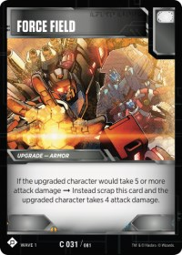 Force Field, Transformers TCG, Wave 1