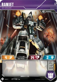 Ramjet - Sky Smasher, Transformers TCG, Wave 1