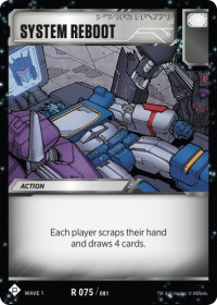 System Reboot, Transformers TCG, Wave 1