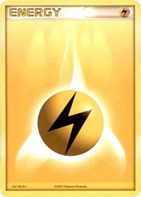 Lightning Energy (2005 Unnumbered), Pokemon, League & Championship Cards
