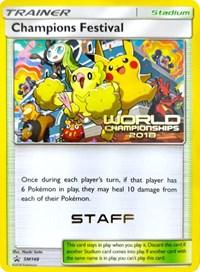 Champions Festival (2018) [Staff], Pokemon, SM Promos