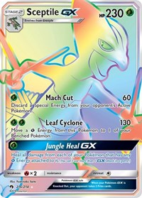 Sceptile GX (Secret), Pokemon, SM - Lost Thunder