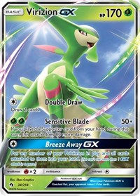 Virizion GX, Pokemon, SM - Lost Thunder