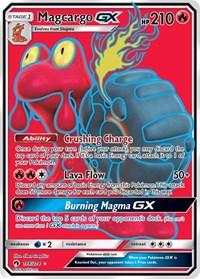 Magcargo GX (Full Art), Pokemon, SM - Lost Thunder