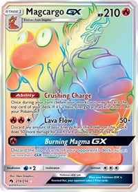 Magcargo GX (Secret), Pokemon, SM - Lost Thunder
