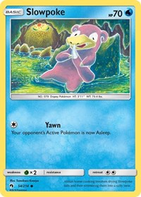 Slowpoke, Pokemon, SM - Lost Thunder