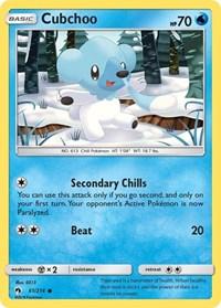 Cubchoo, Pokemon, SM - Lost Thunder