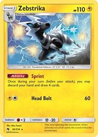 Zebstrika, Pokemon, SM - Lost Thunder