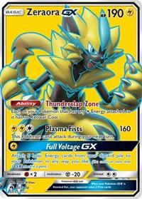 Zeraora GX (Full Art), Pokemon, SM - Lost Thunder