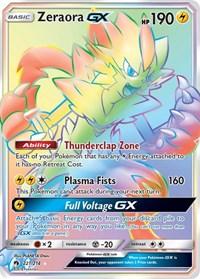 Zeraora GX (Secret), Pokemon, SM - Lost Thunder