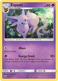 Espeon, Pokemon, SM - Lost Thunder