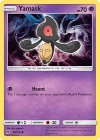 Yamask, Pokemon, SM - Lost Thunder