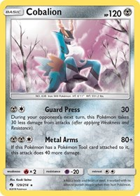 Cobalion, Pokemon, SM - Lost Thunder