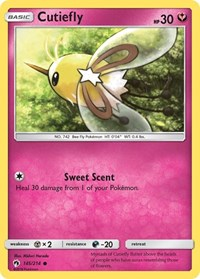 Cutiefly, Pokemon, SM - Lost Thunder