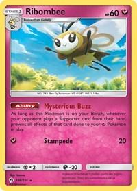 Ribombee, Pokemon, SM - Lost Thunder