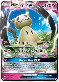 Mimikyu GX, Pokemon, SM - Lost Thunder