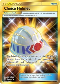 Choice Helmet (Secret), Pokemon, SM - Lost Thunder