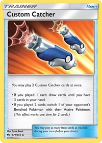 Custom Catcher, Pokemon, SM - Lost Thunder
