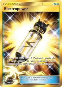 Electropower (Secret), Pokemon, SM - Lost Thunder