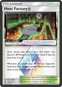 Heat Factory Prism Star, Pokemon, SM - Lost Thunder