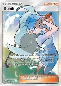 Kahili (Full Art), Pokemon, SM - Lost Thunder