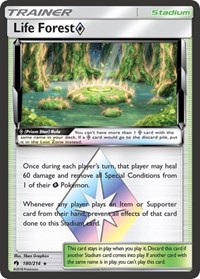 Life Forest Prism Star, Pokemon, SM - Lost Thunder