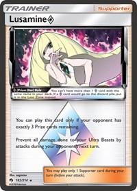 Lusamine Prism Star, Pokemon, SM - Lost Thunder