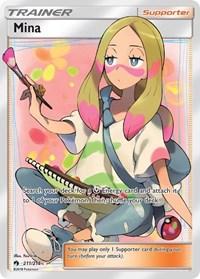 Mina (Full Art), Pokemon, SM - Lost Thunder