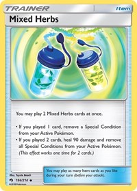 Mixed Herbs, Pokemon, SM - Lost Thunder