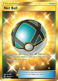 Net Ball (Secret), Pokemon, SM - Lost Thunder