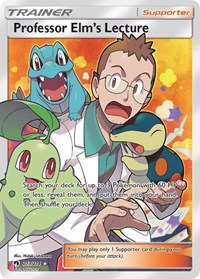 Professor Elm's Lecture (Full Art), Pokemon, SM - Lost Thunder