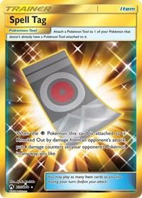 Spell Tag (Secret), Pokemon, SM - Lost Thunder