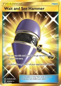 Wait and See Hammer (Secret), Pokemon, SM - Lost Thunder