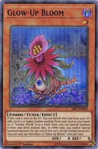 Glow-Up Bloom, YuGiOh, Structure Deck: Zombie Horde