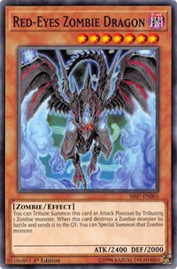 Red-Eyes Zombie Dragon, YuGiOh, Structure Deck: Zombie Horde