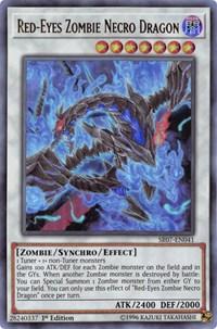 Red-Eyes Zombie Necro Dragon, YuGiOh, Structure Deck: Zombie Horde
