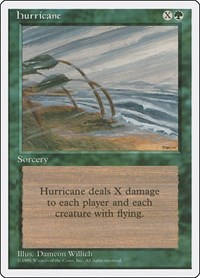 Hurricane, Magic: The Gathering, Fourth Edition