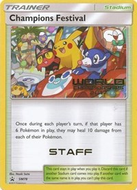 Champions Festival (2017) [Staff], Pokemon, SM Promos