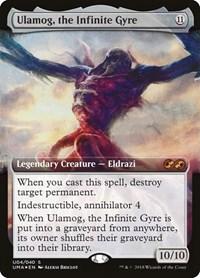Ulamog, the Infinite Gyre, Magic, Ultimate Masters: Box Toppers