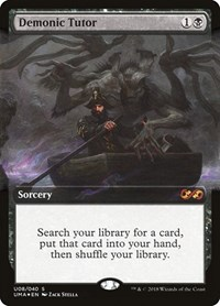 Demonic Tutor, Magic: The Gathering, Ultimate Masters: Box Toppers
