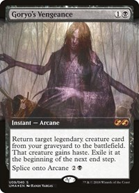 Goryo's Vengeance, Magic: The Gathering, Ultimate Masters: Box Toppers