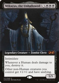 Mikaeus, the Unhallowed (Foil)