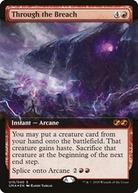 Through the Breach, Magic, Ultimate Masters: Box Toppers