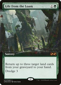 Life from the Loam, Magic: The Gathering, Ultimate Masters: Box Toppers
