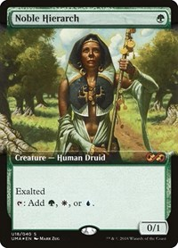 Noble Hierarch, Magic: The Gathering, Ultimate Masters: Box Toppers