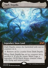 Dark Depths, Magic: The Gathering, Ultimate Masters: Box Toppers