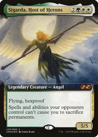 Sigarda, Host of Herons, Magic, Ultimate Masters: Box Toppers