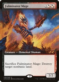 Fulminator Mage, Magic, Ultimate Masters: Box Toppers