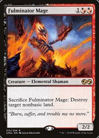 Fulminator Mage, Magic: The Gathering, Ultimate Masters